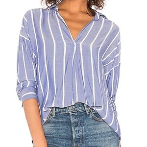 Rails Rosanna V Neck Shirt.